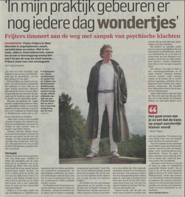 AD over Pieter Frijters